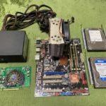 P7P55Dマザーボードを組む